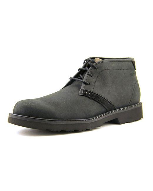 Dunham | Black Revdash Men Round Toe Leather Boot for Men | Lyst