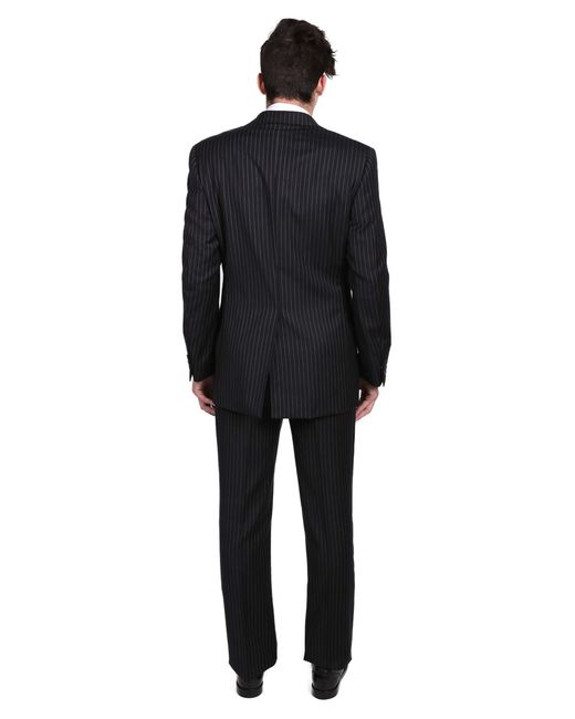 Versace Collection Men's Pinstripe Two-piece Wool Suit