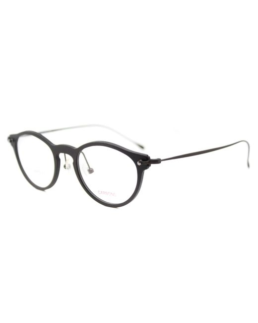 Lafont Round Eyeglass Frames : Lafont Transverse Round Plastic Eyeglasses in Brown Lyst