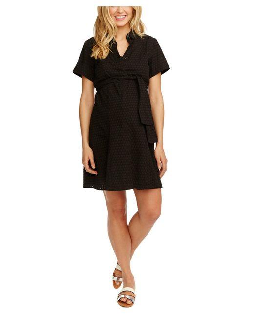 Rosie Pope | Black Maternity Ali Shirtdress | Lyst