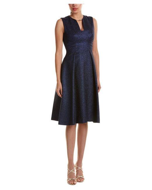 Lela Rose | Blue A-line Dress | Lyst