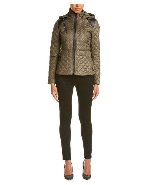 Laundry by Shelli Segal | Multicolor Quilted Jacket | Lyst