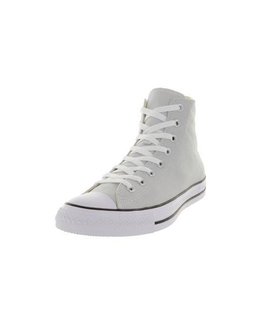 Converse | Gray Unisex Chuck Taylor All Star Hi Basketball Shoe for Men | Lyst