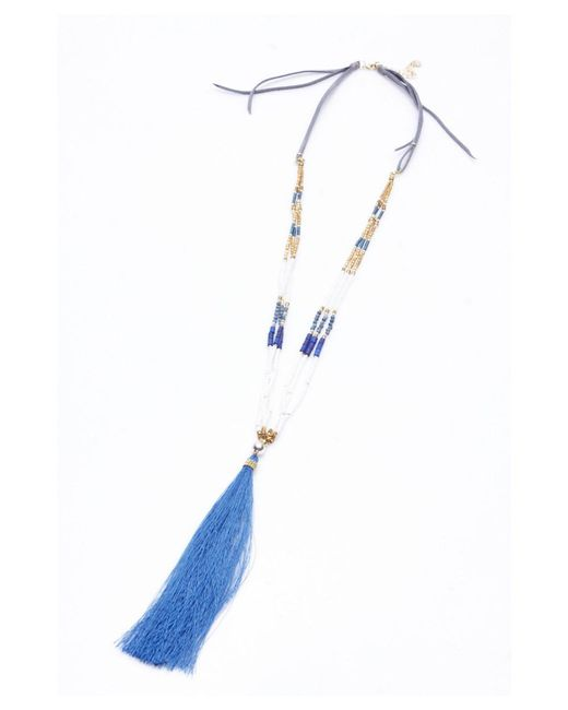 Nakamol | Blue Kelela Necklace By | Lyst