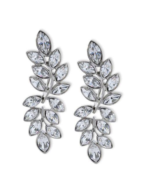 Kenneth Jay Lane | Metallic Women's Silver/crystal Earring | Lyst