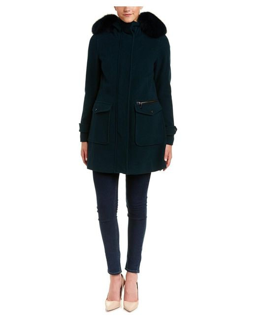 Trina Turk | Multicolor Addilyn Wool & Cashmere-blend Coat | Lyst