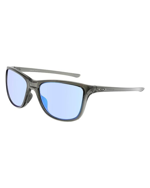 Oakley - Multicolor Reverie Oo9362-06 Black Rectangle Sunglasses - Lyst