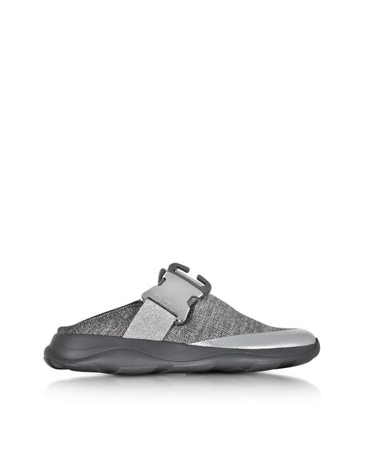 Christopher Kane - Gray Women's Grey Fabric Sneakers - Lyst