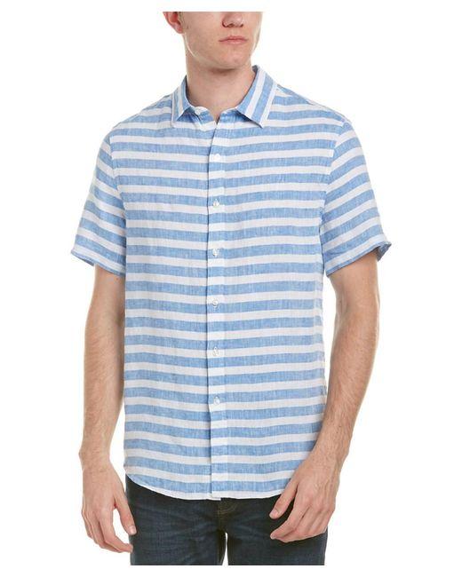Michael Bastian   Blue Gray Label Linen Woven Shirt for Men   Lyst