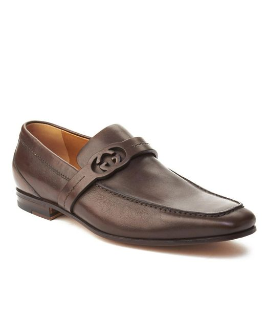 Mens Burnished Leather Penny Loafers Harris Firenze CDpot