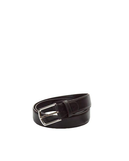 Brioni - Men's Brown Leather Belt for Men - Lyst