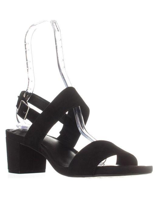 Giani Bernini - Gb35 Maggiee Slingback Mule Sandals, Black Suede - Lyst