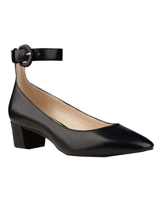 Nine West | Black Women's Brianyah Ankle Strap Heel | Lyst