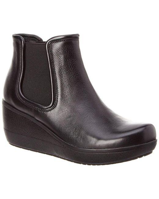Clarks - Black Wynnmere Mara Leather Bootie - Lyst