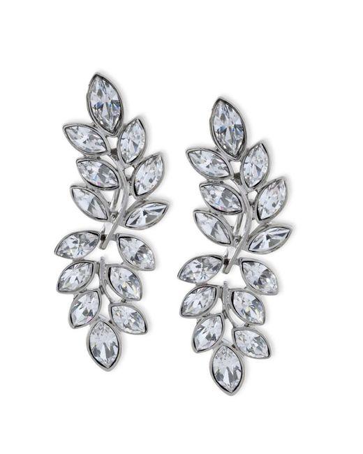 Kenneth Jay Lane - Metallic Women's Silver/crystal Earring - Lyst