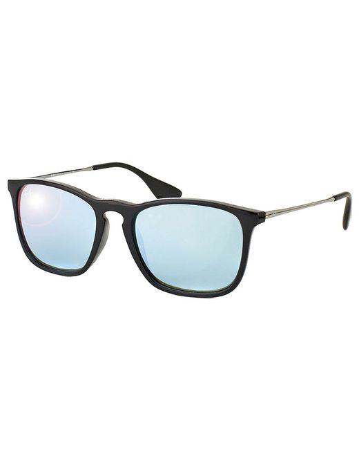 Ray-Ban - Black Chris Square Plastic Sunglasses - Lyst