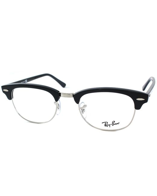 Ray-Ban - Clubmaster Rx 5154 2000 49mm Black Square Sunglasses - Lyst