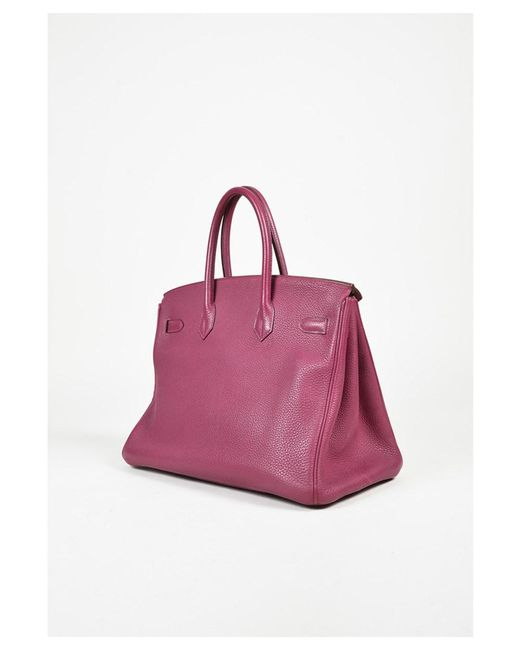 5f64c4471306 wholesale hermes bag amazon 03025 fdb80  coupon code for hermès 1 tosca  purple togo leather birkin 35 c8984 b0e4f