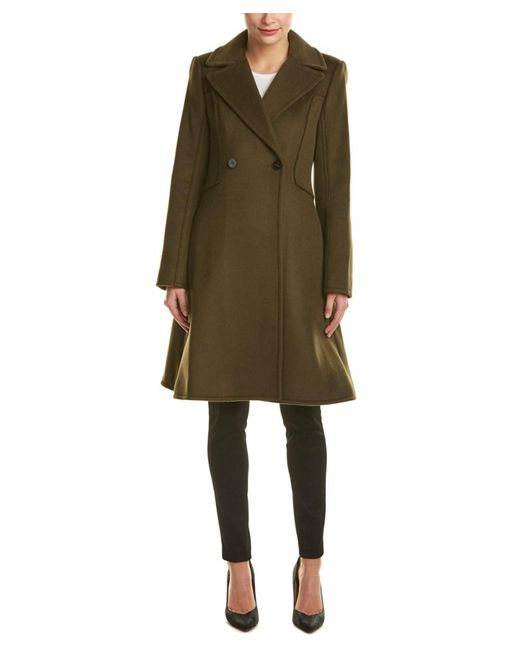 Dawn Levy | Green Venus Wool Coat | Lyst