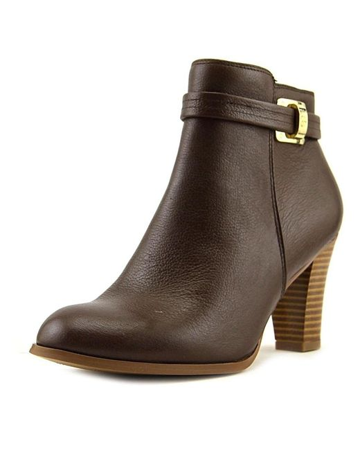 Giani Bernini | Brown Womens Baari Leather Closed Toe Ankle Fashion Boots Fashion Boots | Lyst