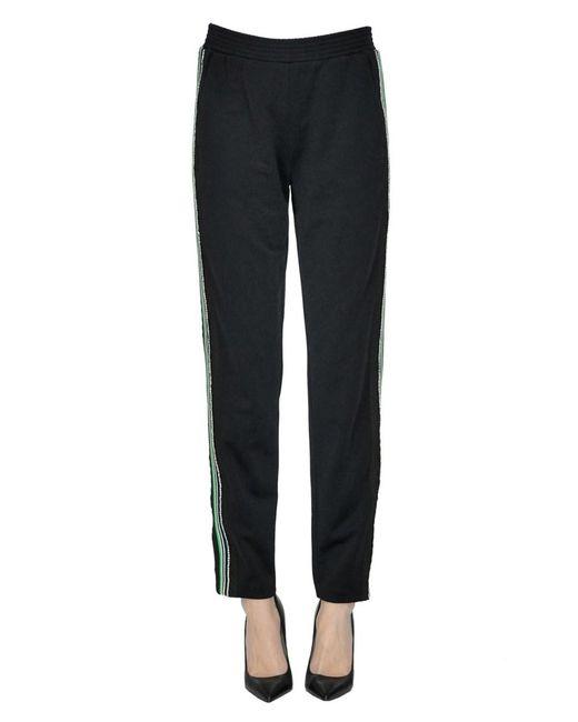 Pinko - Women's Black Polyester Pants - Lyst