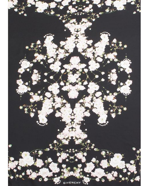 Givenchy - Multicolor Women's Floral Pattern Silk Scarf - Lyst
