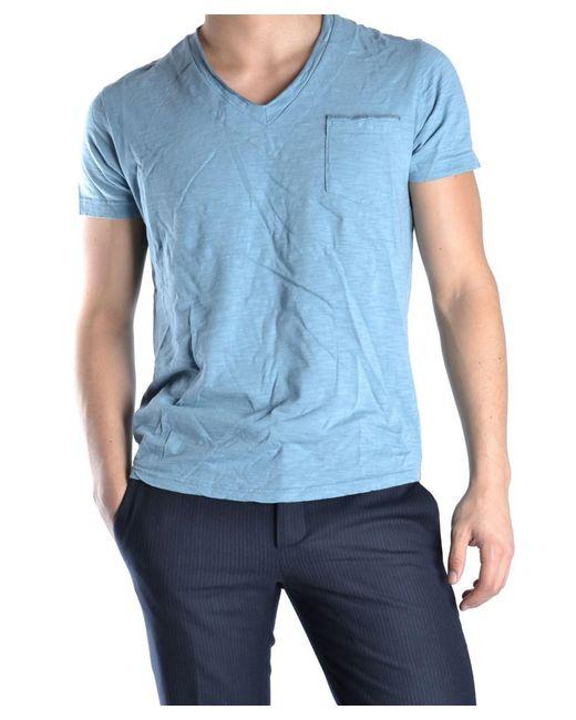 Virtus Palestre   Men's Light Blue Cotton T-shirt for Men   Lyst