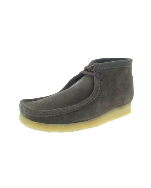 Clarks - Brown Men's Wallabee Boot Boot for Men - Lyst