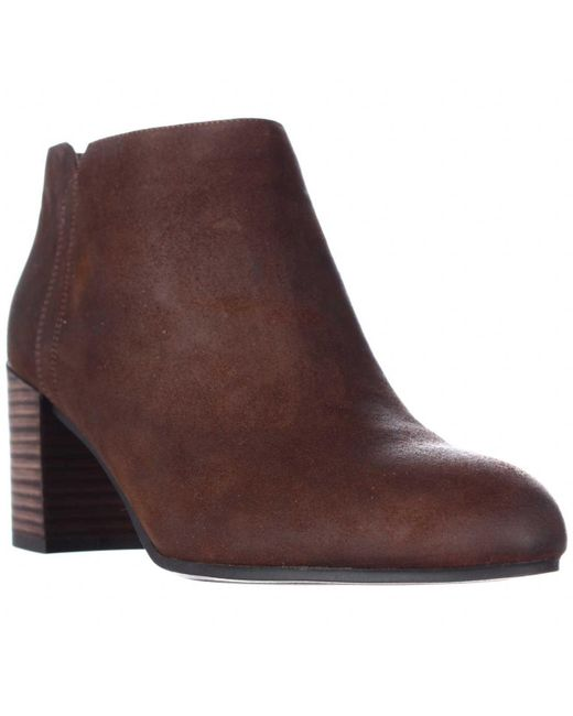 Franco Sarto - Brown Narcissa Ankle Boots - Tan - Lyst