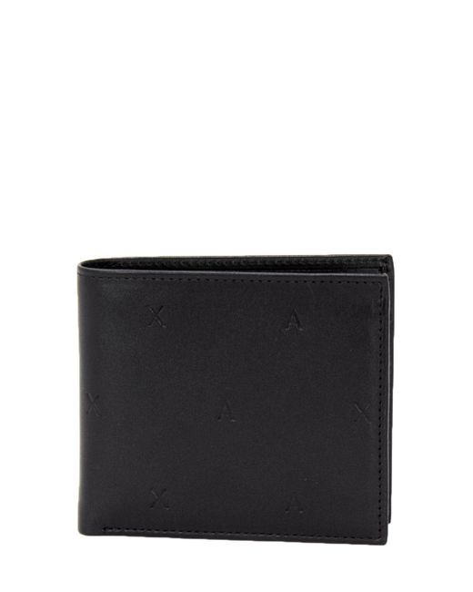 Armani Exchange - Men's Black Leather Wallet for Men - Lyst