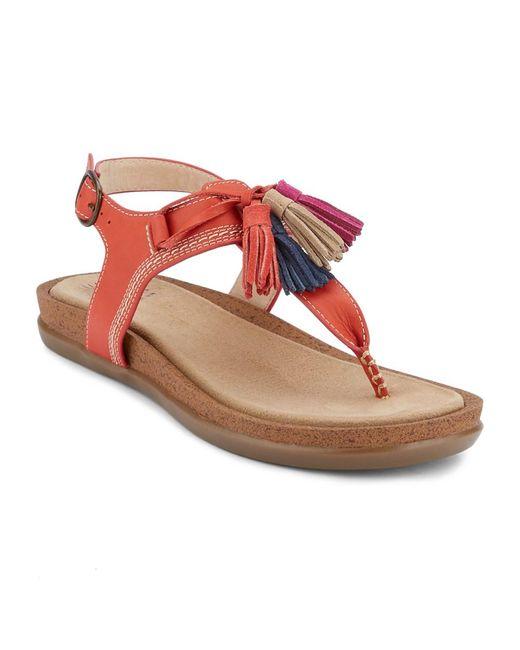 G.H. Bass & Co. - Multicolor . Womens Sunjuns Sadie Sandal Shoe - Lyst