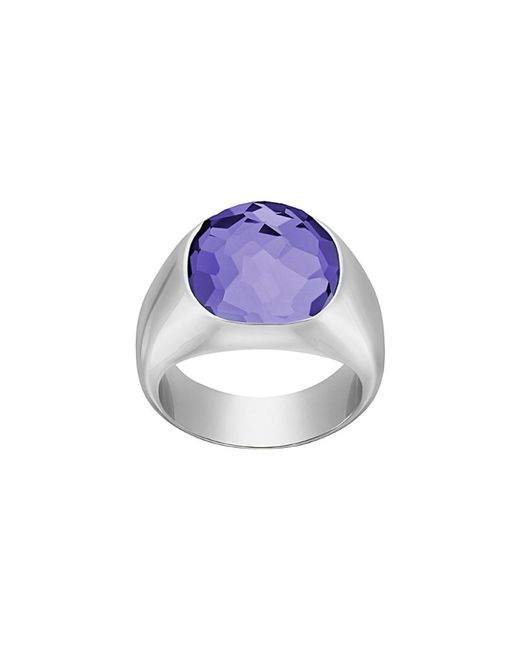 Swarovski | Multicolor Crystal Plated Dot Ring | Lyst