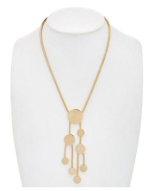 Trina Turk - Metallic Indian Canyon Disc Necklace - Lyst