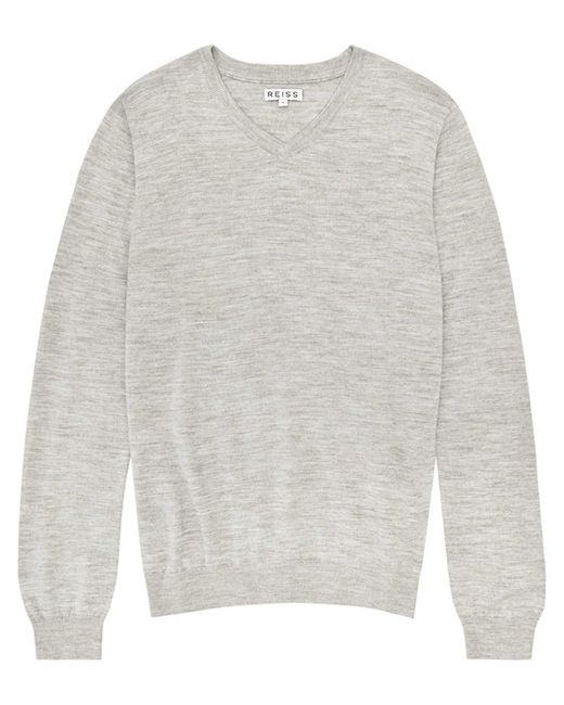 Reiss | Gray Wool Knitwear for Men | Lyst