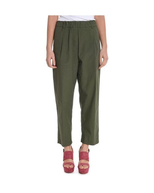 Jucca | Women's Green Cotton Pants | Lyst