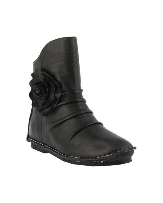 Spring Step - Black Women's Silvestra Ankle Boot - Lyst