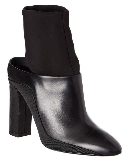 Via Spiga - Black Agyness Leather Bootie - Lyst