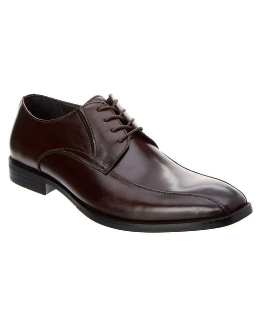 Kenneth Cole - Brown Extra Ticket Leather Oxford for Men - Lyst