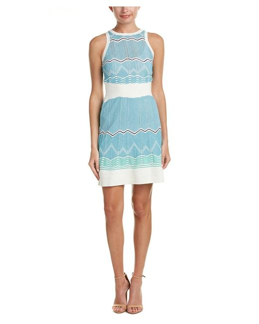 M Missoni | White A-line Dress | Lyst