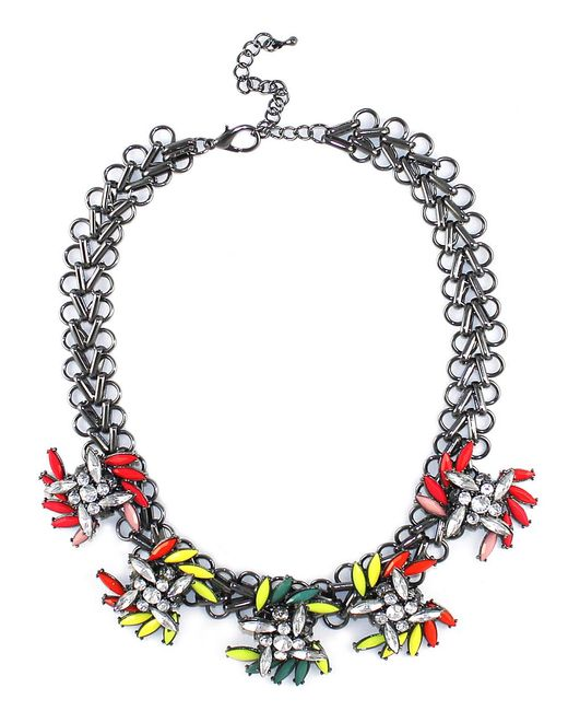 Kristin Perry | Metallic Neon Spray Necklace | Lyst