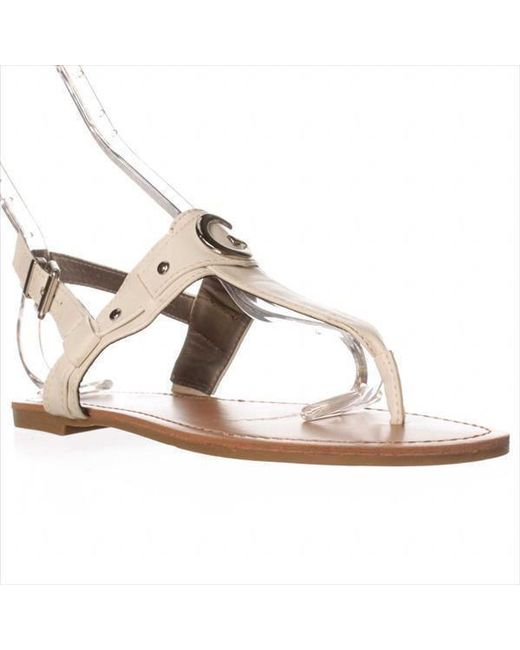 bae476210a396f Lyst - Guess G By Lundon-x Ankle-strap Sandals