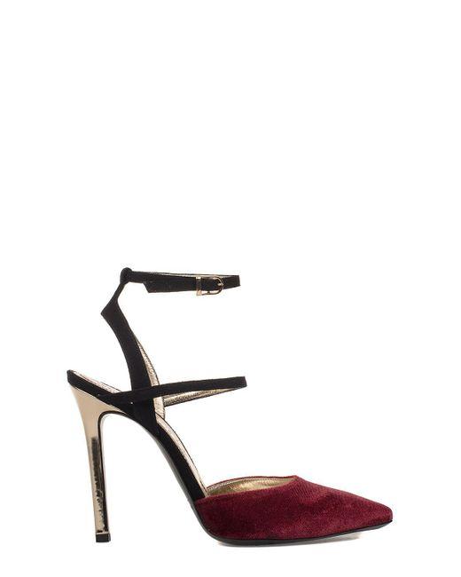 Marc Ellis - Women's Black/red Leather Sandals - Lyst