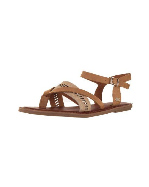 TOMS - Brown Women's Lexie Sandal - Lyst