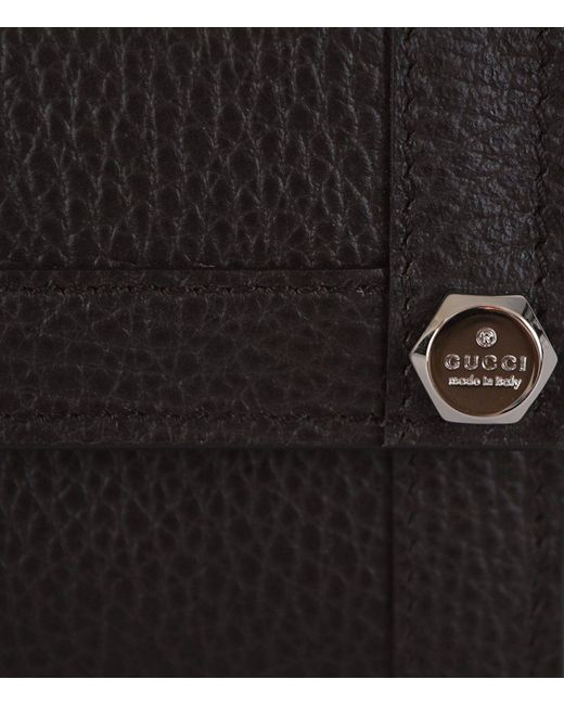 f675bdc001a683 ... Gucci - Women's Brown Textured Leather Continental Wallet W / Coin  Pocket 231839 2044 ...