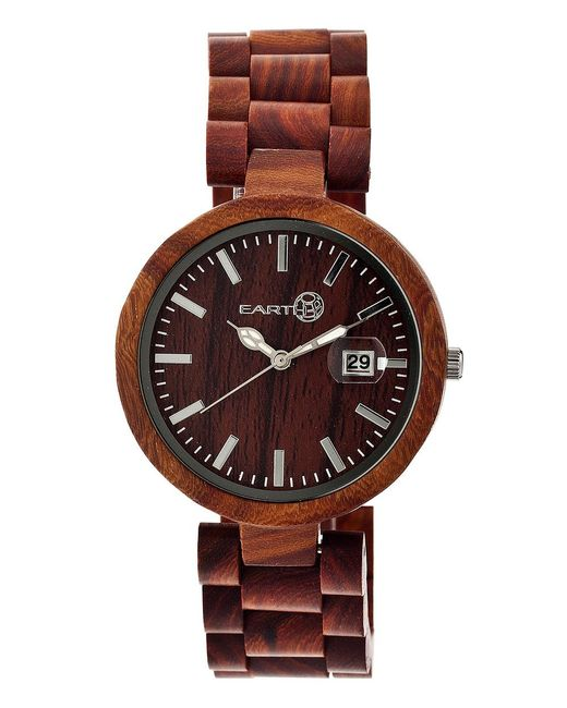Earth Wood - Brown Stomates Bracelet Watch - Lyst