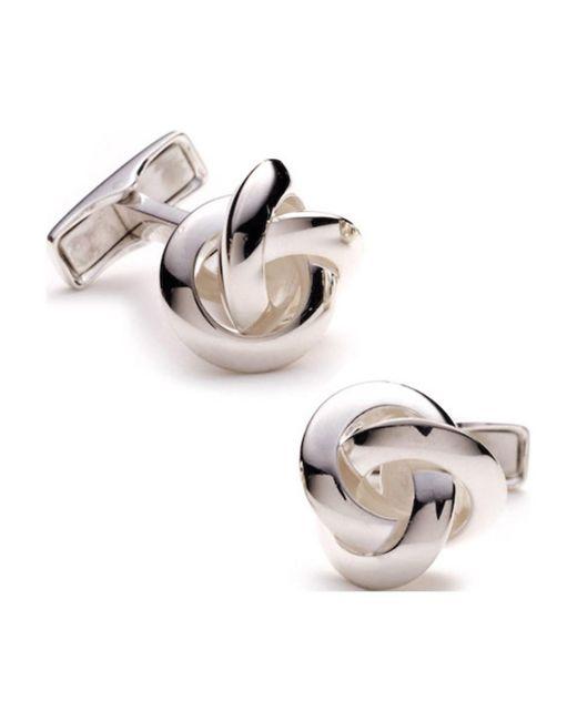 Ravi Ratan - Metallic Men's Silver Knot for Men - Lyst