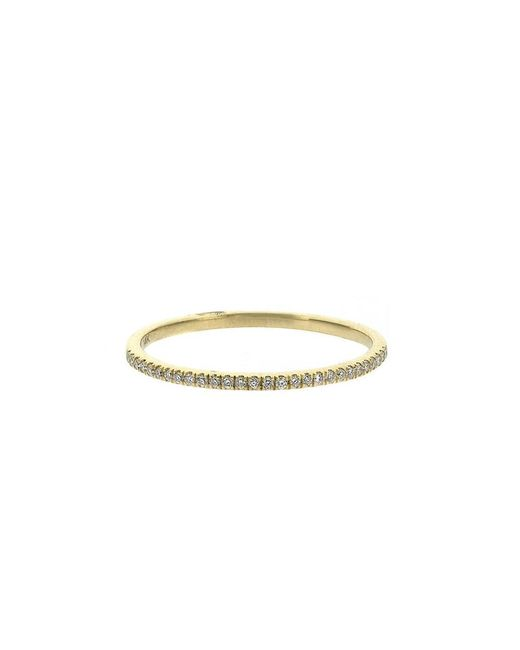 Adornia - Metallic Fine 14k Ring - Lyst