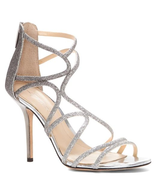 Imagine Vince Camuto - Metallic Ranee Glitter Strappy Sandals - Lyst