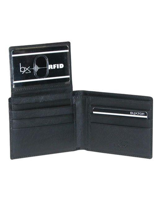 Buxton - Black Men's Houston Rfid Credit Card Billfold for Men - Lyst
