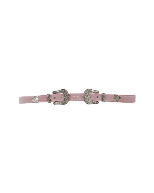 B-Low The Belt - Women's Pink Velvet Belt - Lyst